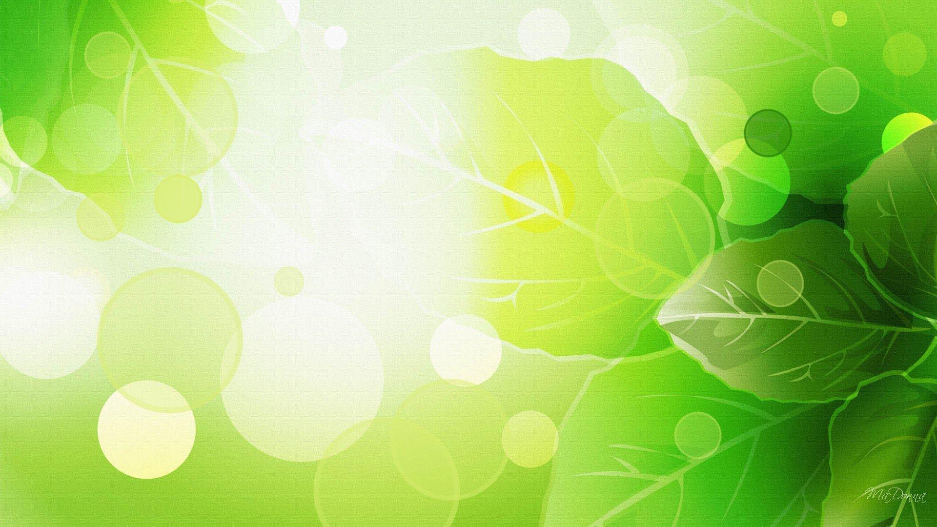 Летием, открытка с зеленым фоном