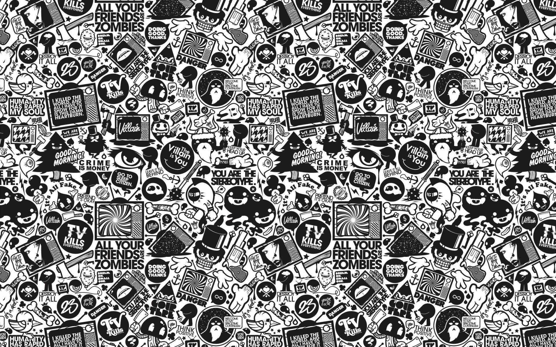 База черно белых картинок
