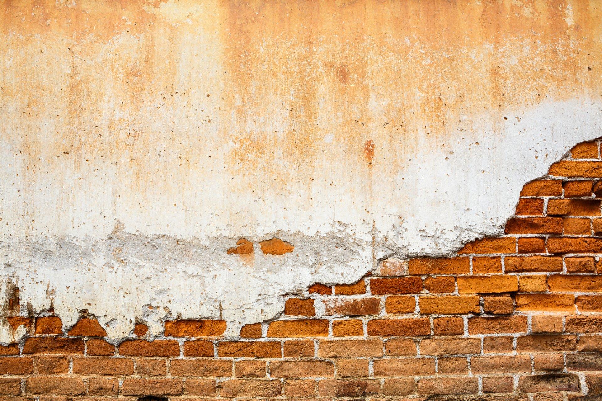 Штукатурка на кирпичную стену 70