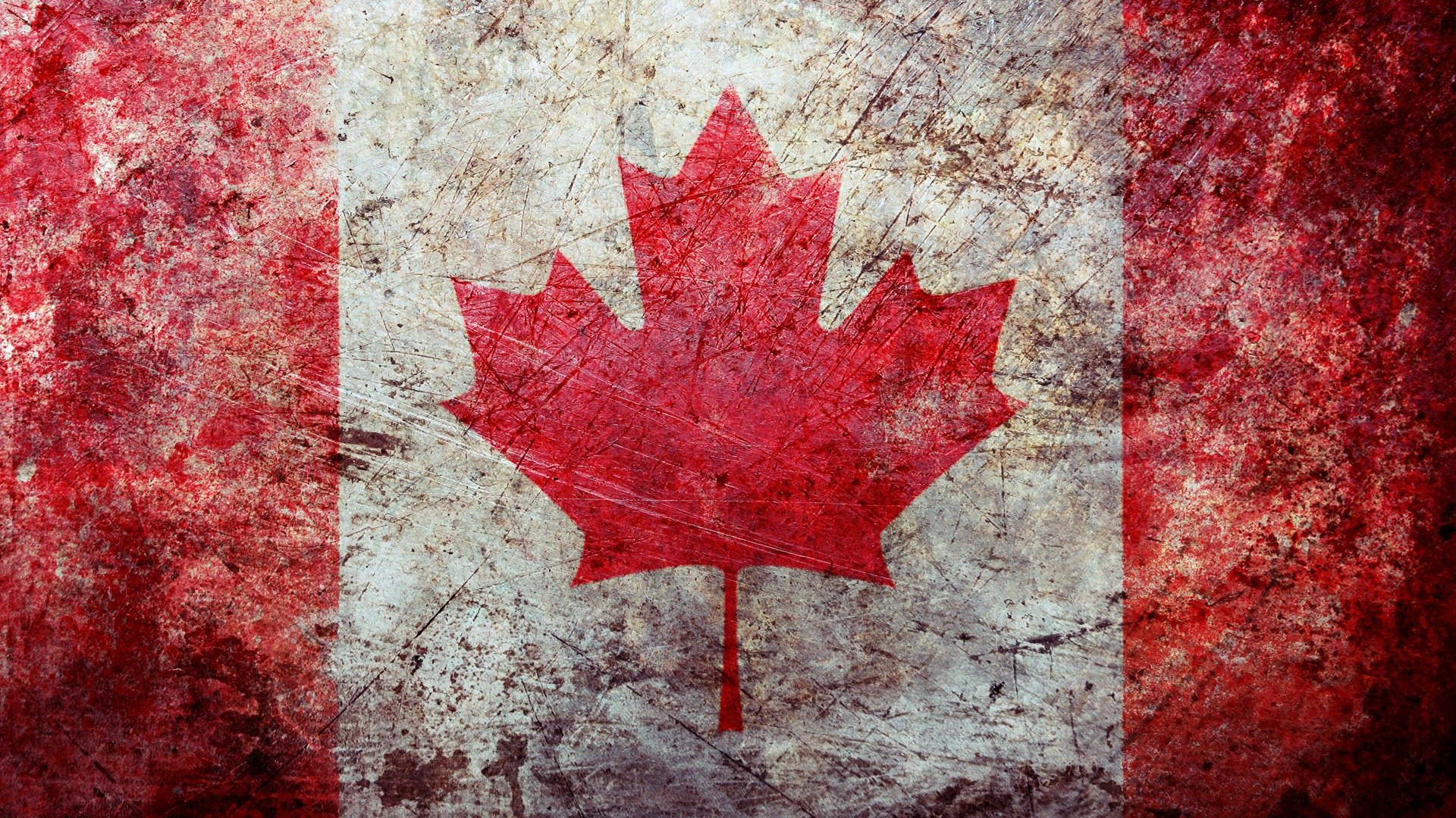 канадский флаг в картинках стиле лофт