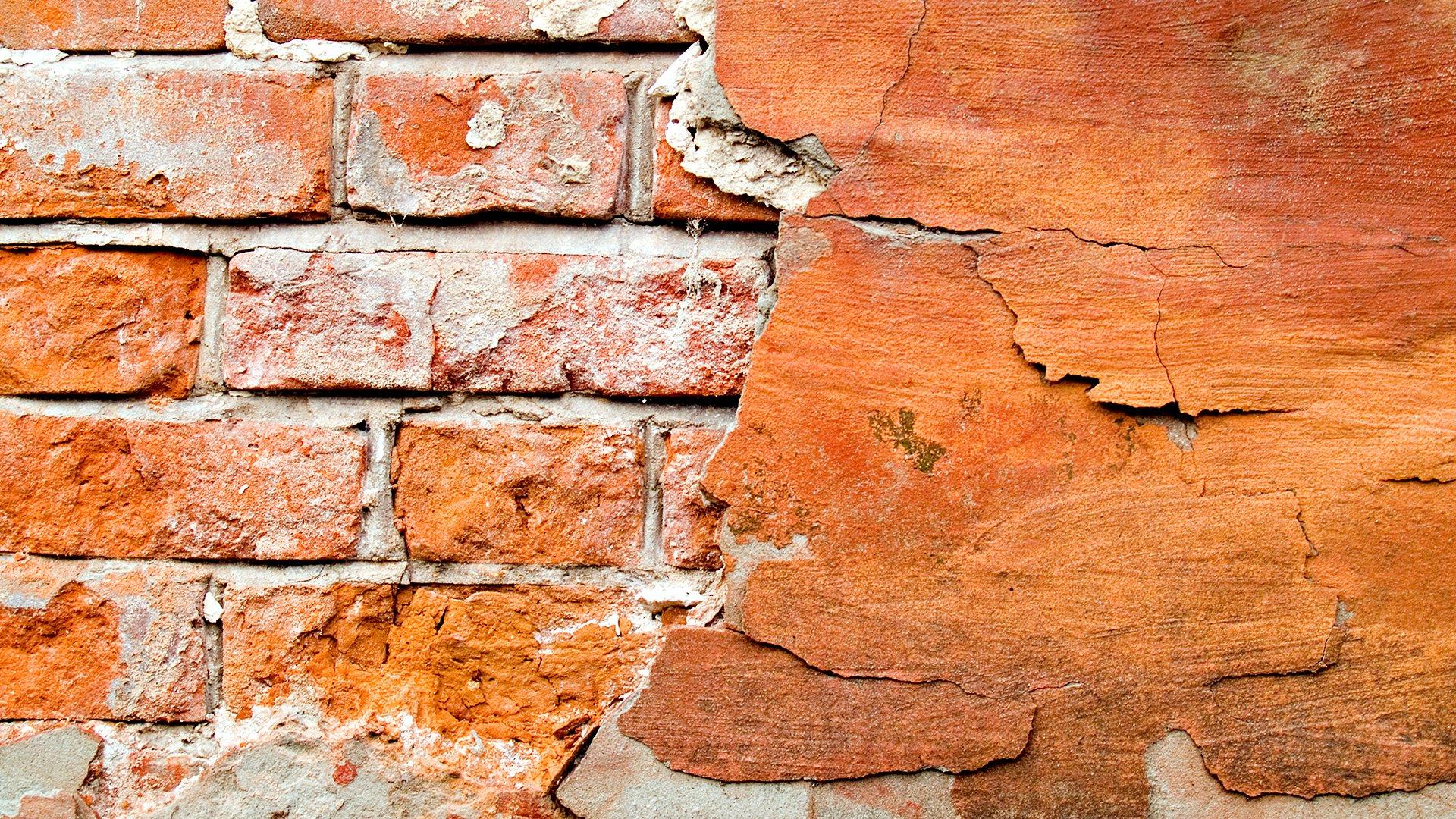 стена кирпичи раскол онлайн