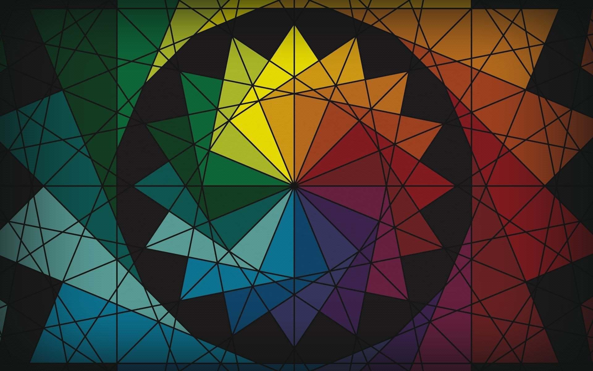 10 geometric art explorations for math learning - HD1920×1200
