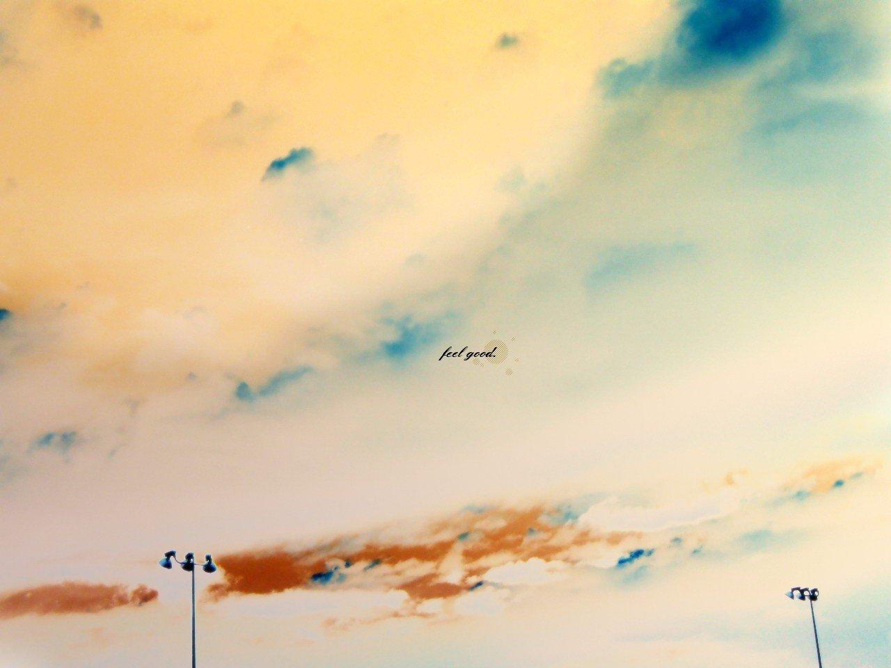 Обои рисунок небо