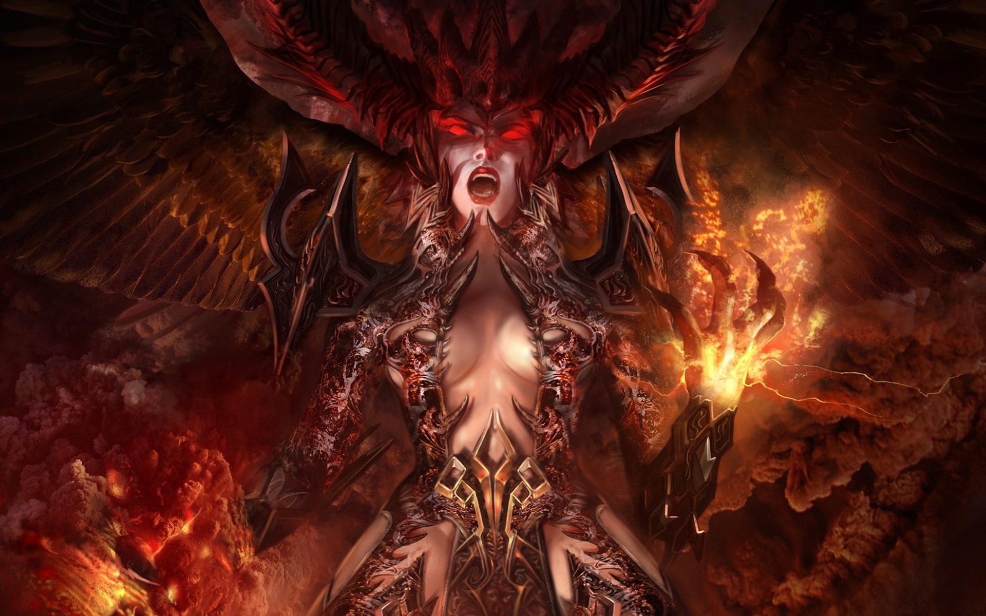 Демон Обои На Стол