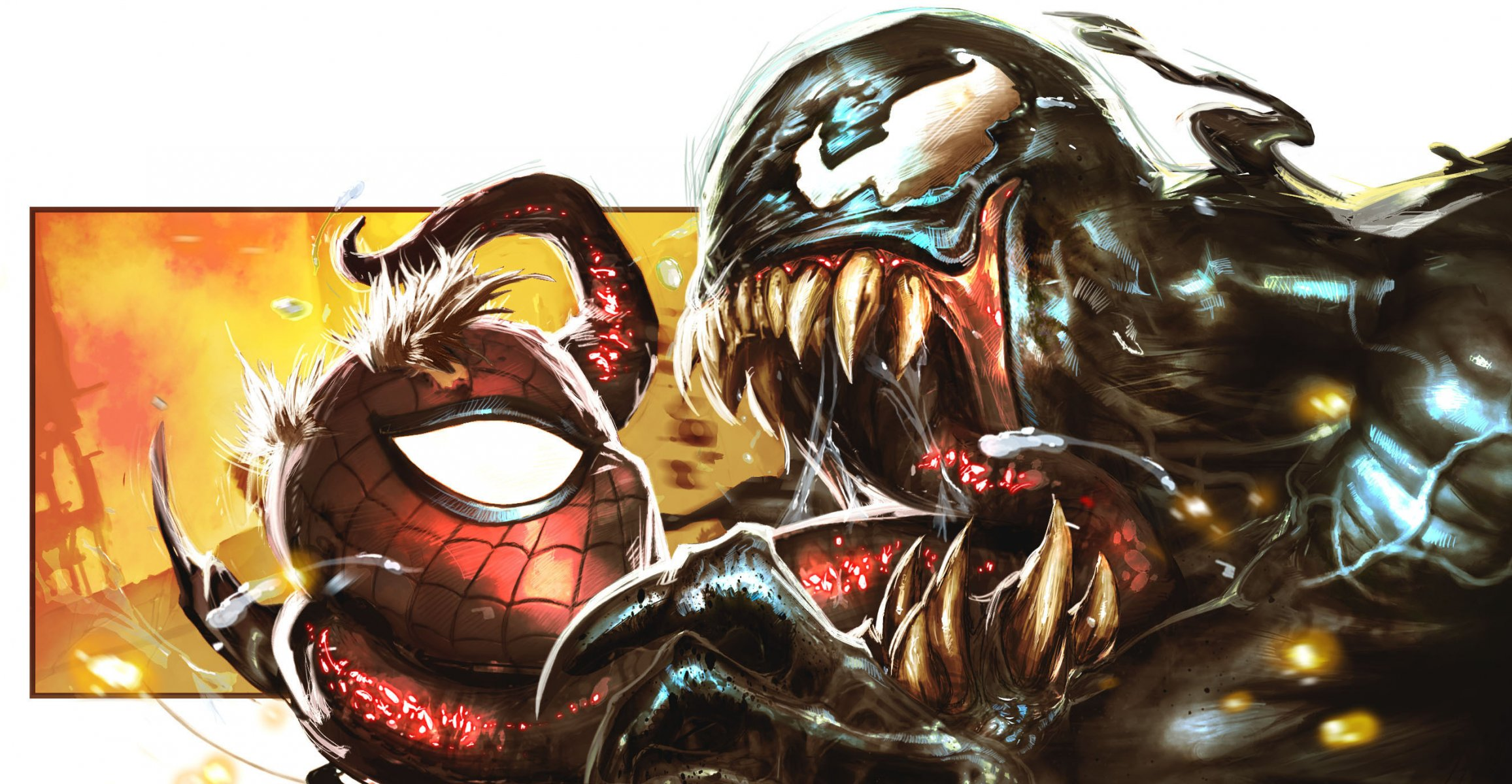 Venom amp SpiderMan Into the SpiderVerse Getting SDCC