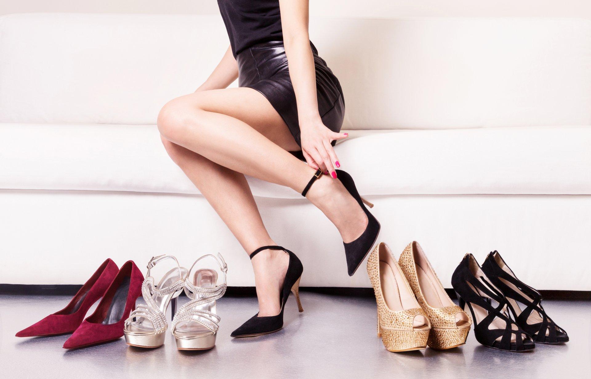 Модели на высоких каблуках фото