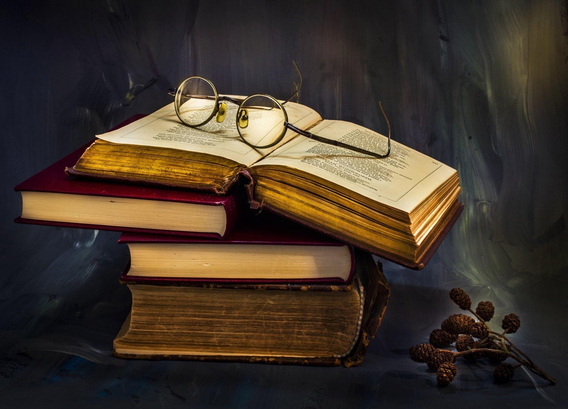 Обои книги, очки. Разное foto 11