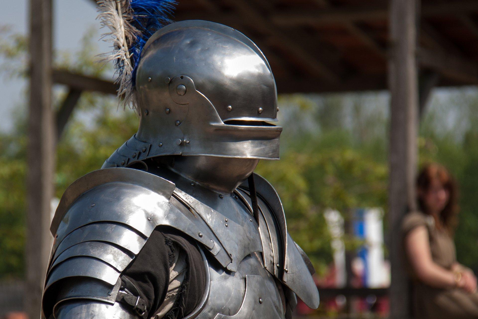 Картинки рыцари средневековья в доспехах