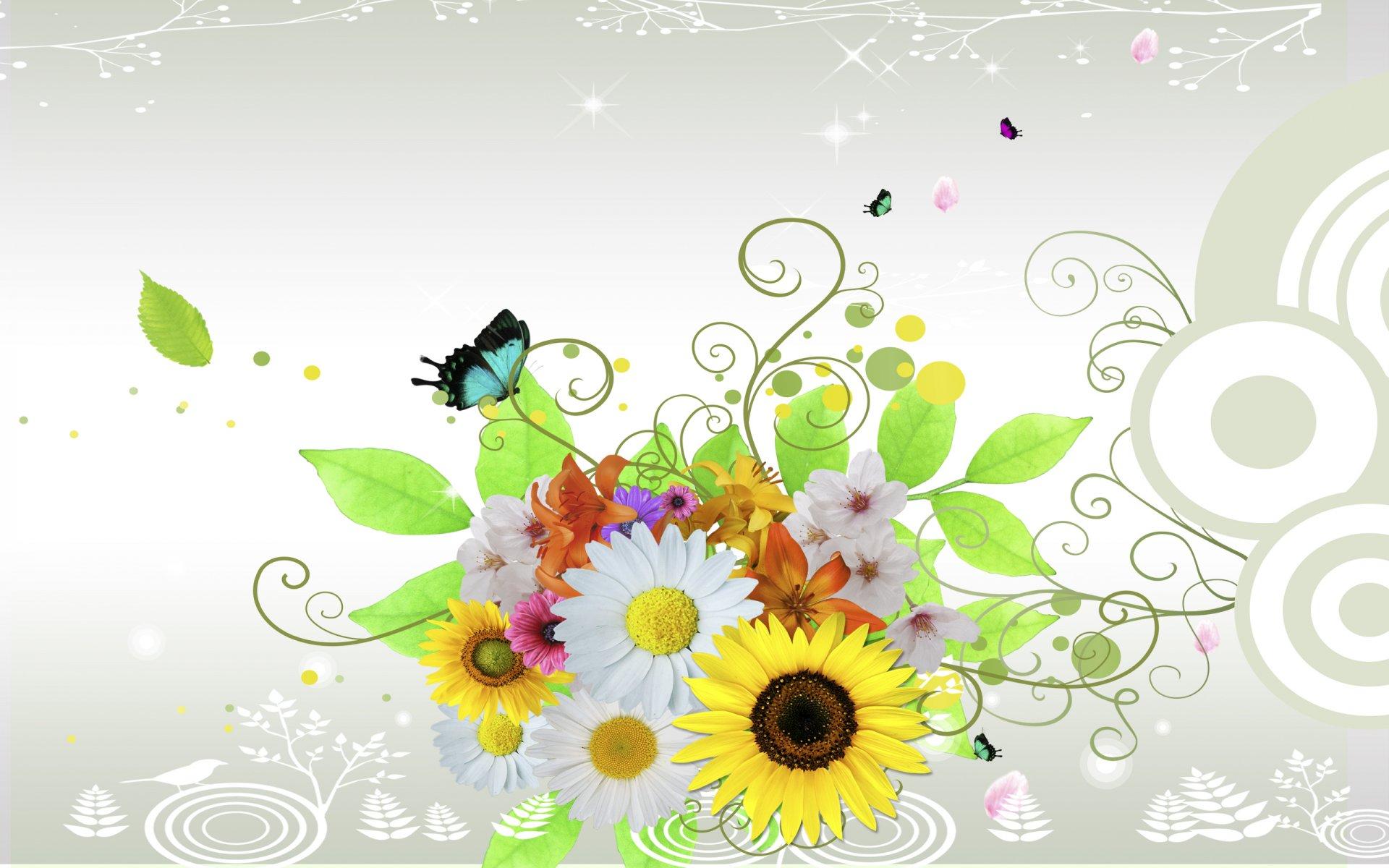 Красивые картинки с цветами для афиши посмотрели