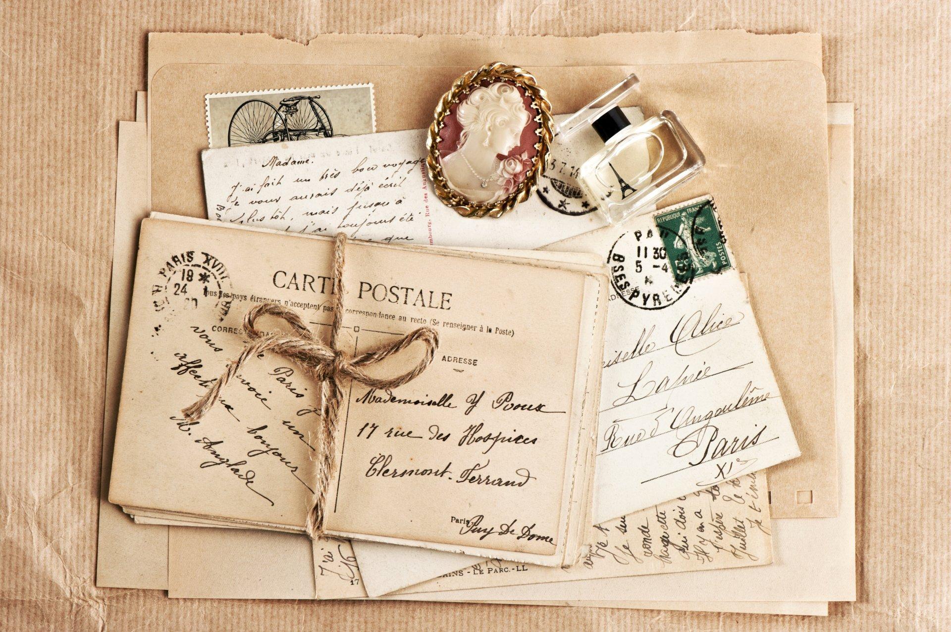 Фотографии открыток и писем, день