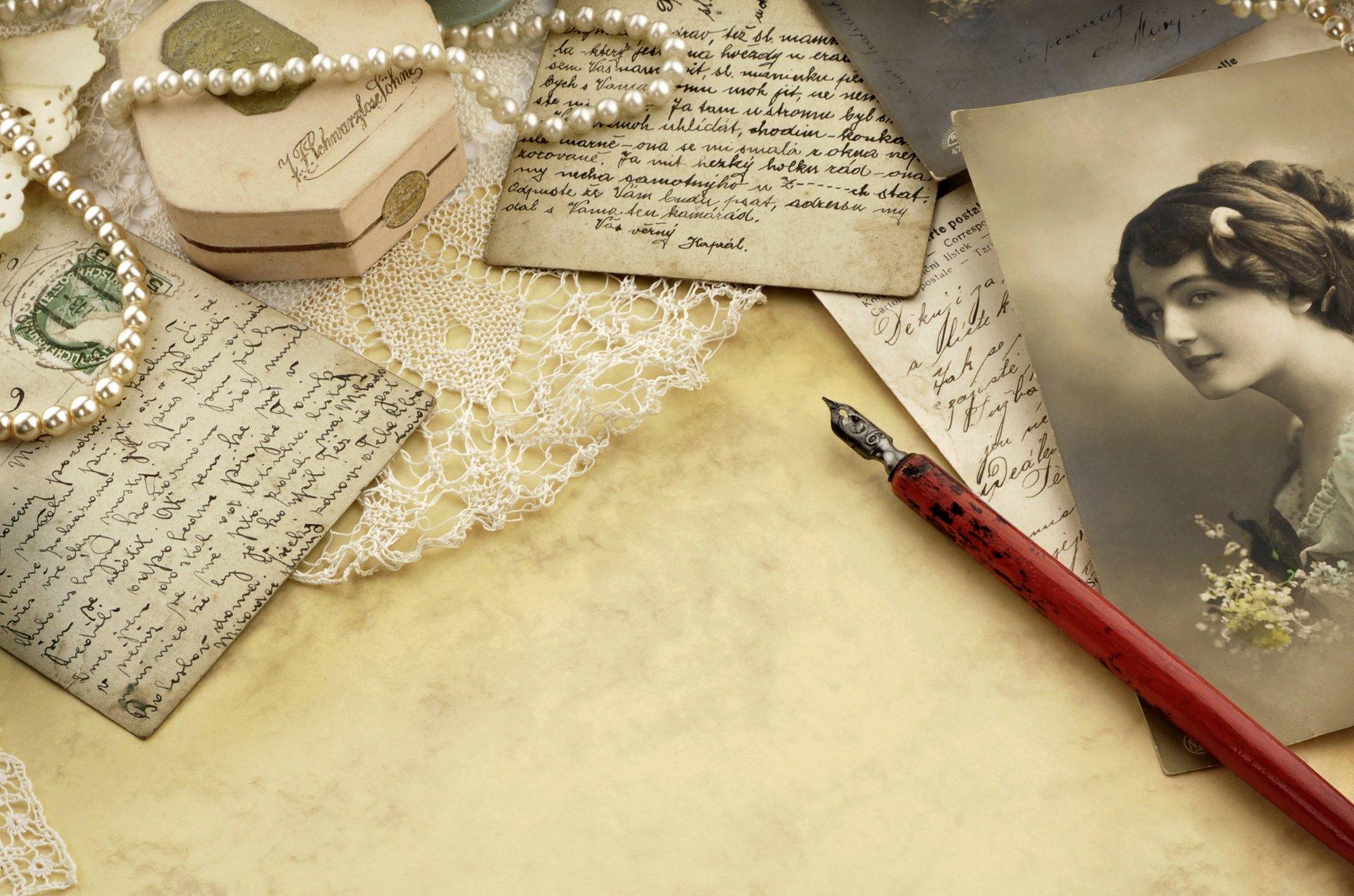Девичник, что такое письмо и открытка