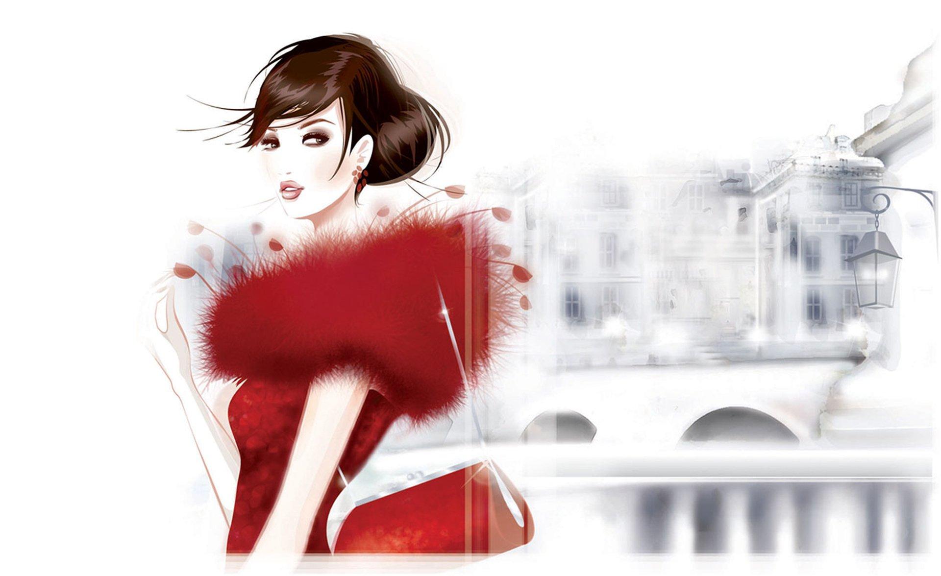 Fashion wallpapers art print