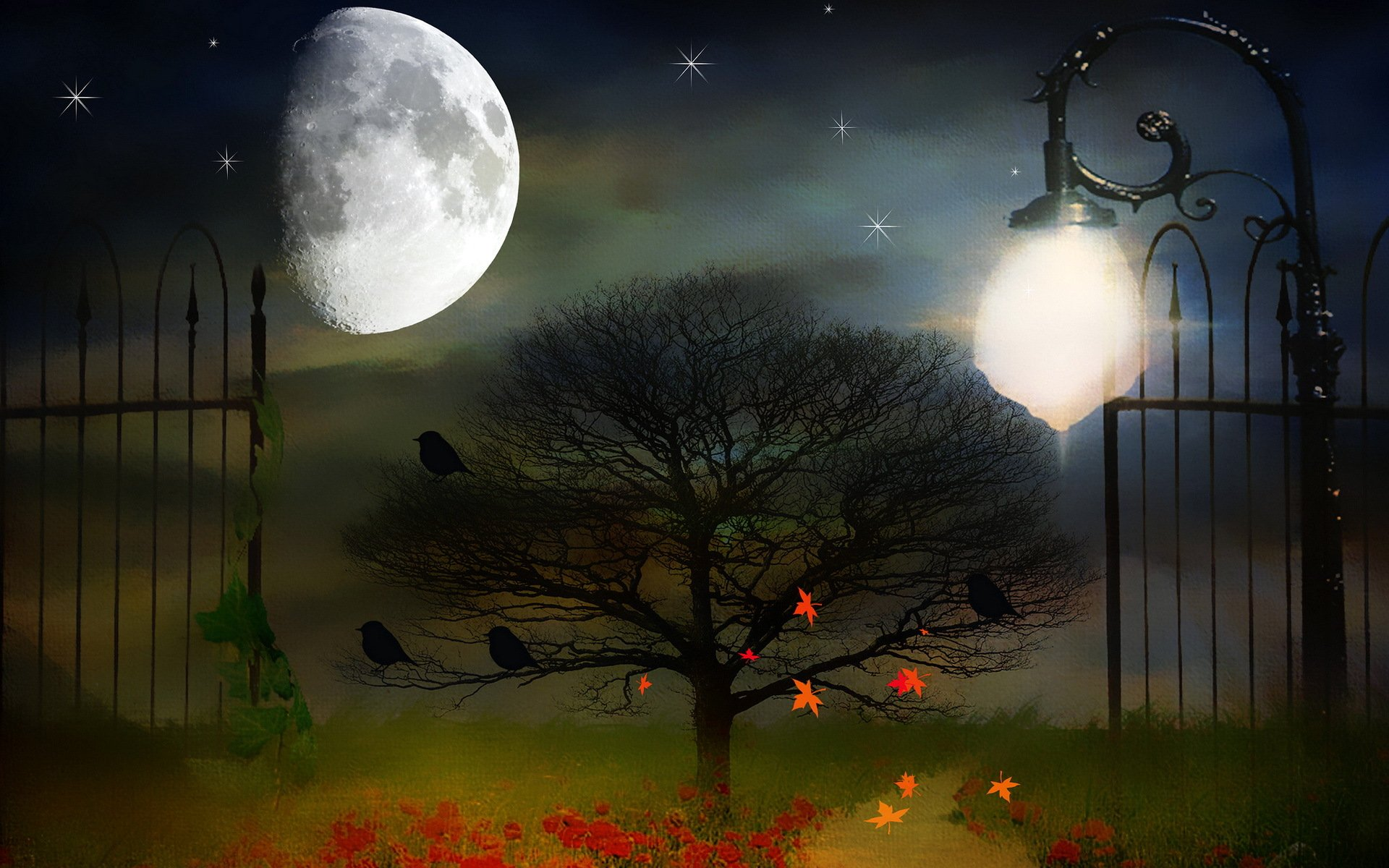 Спокойной ночи красивые открытки птицами и природой, днем рождения