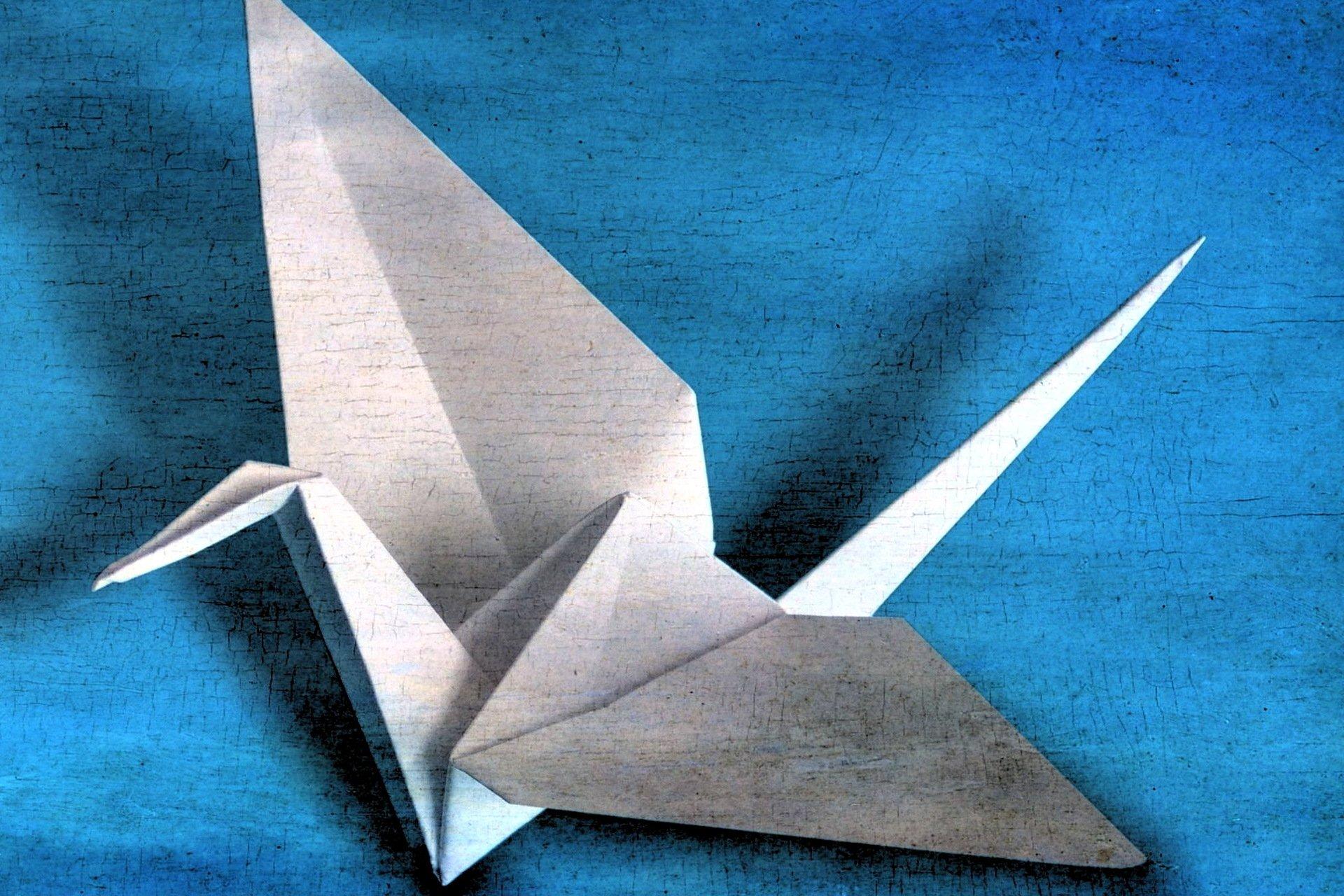 Оригами картинки журавлика