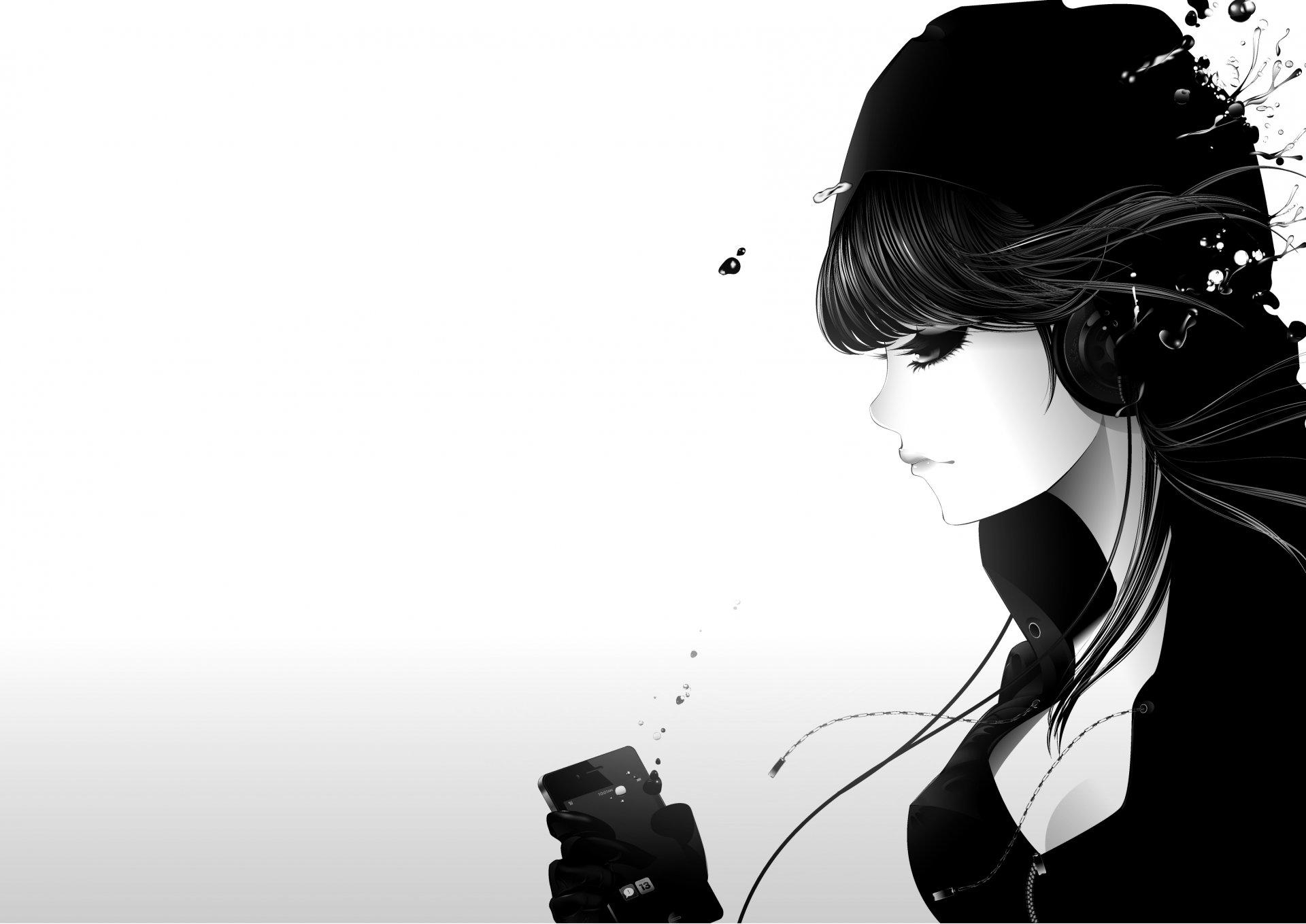 Крутые черные картинки на белом фоне, открытка