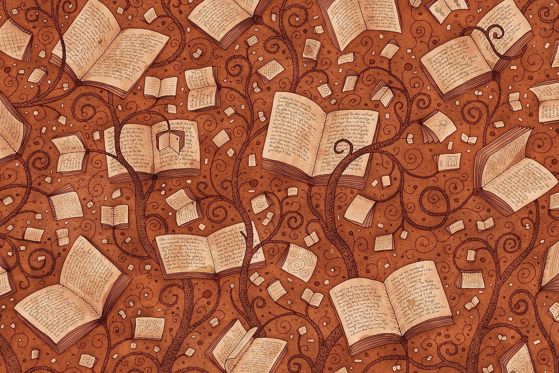 Картинки про фон для книги