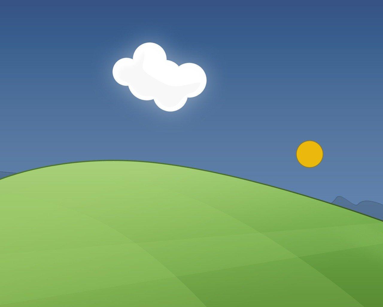 Картинки небо и земля для детей