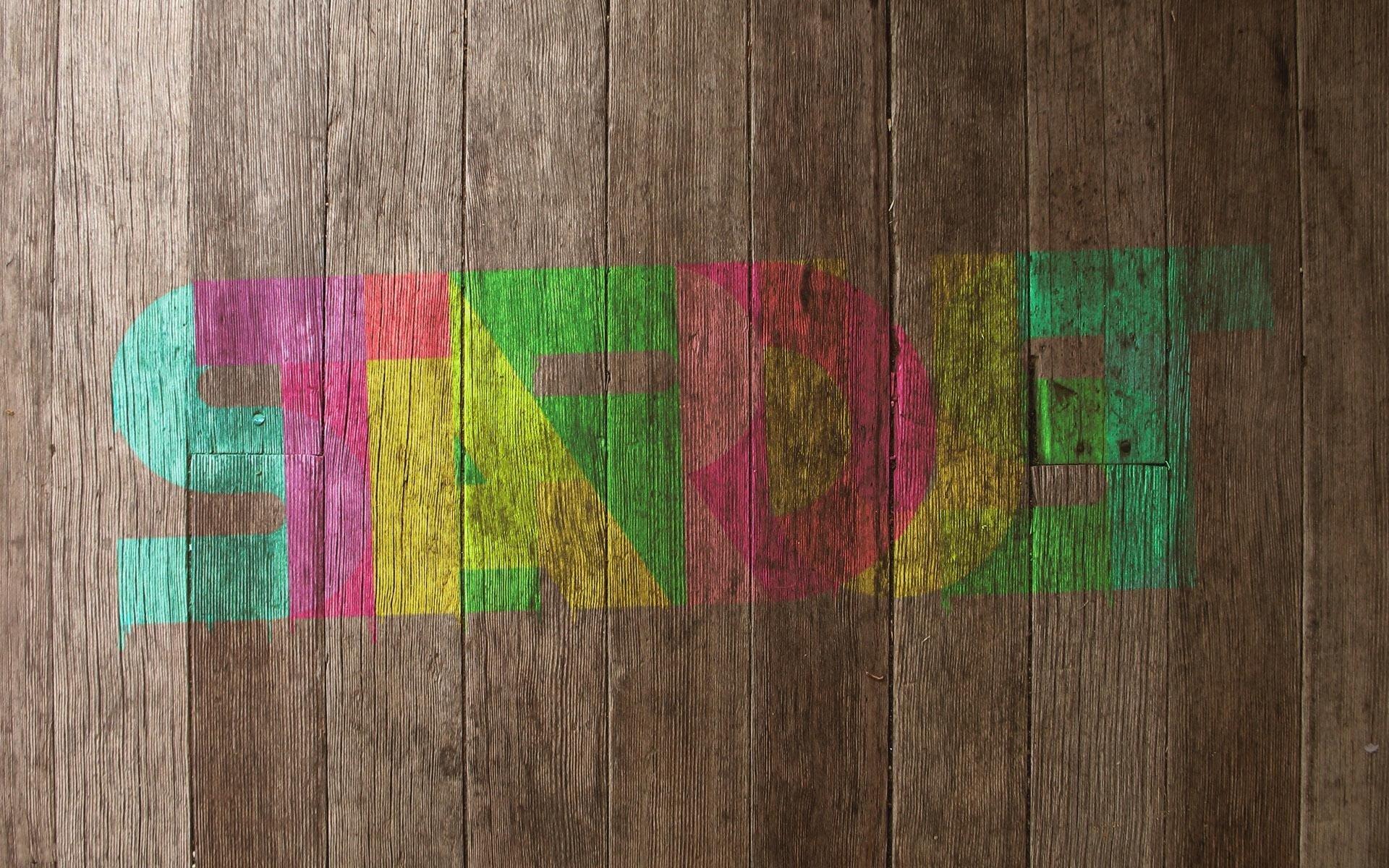 Картинки с разноцветными надписями