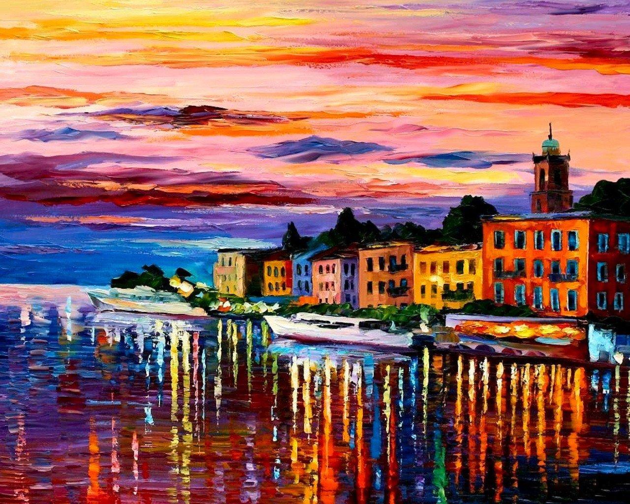 Кто рисует пейзажи художники