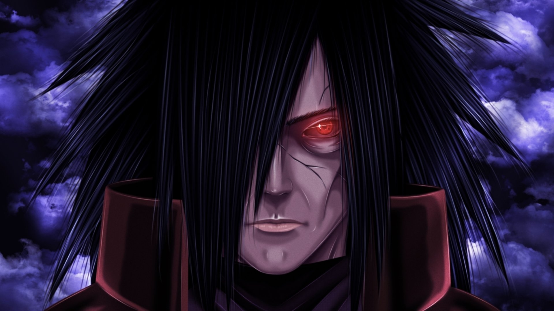 Madara and obito side by side