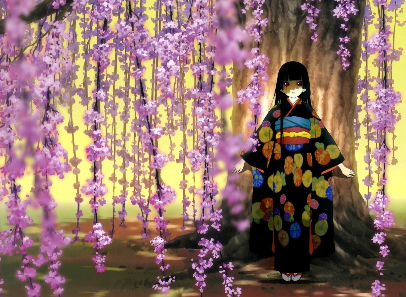 Обои Япония, шоссе, Shin mimura, цветущая вишня. Города foto 8