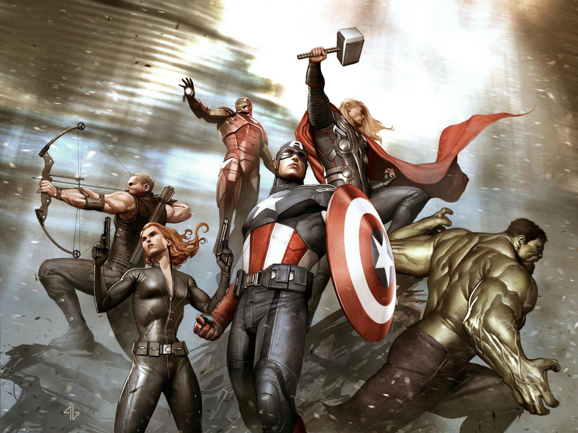 Команда Мстителей скачать