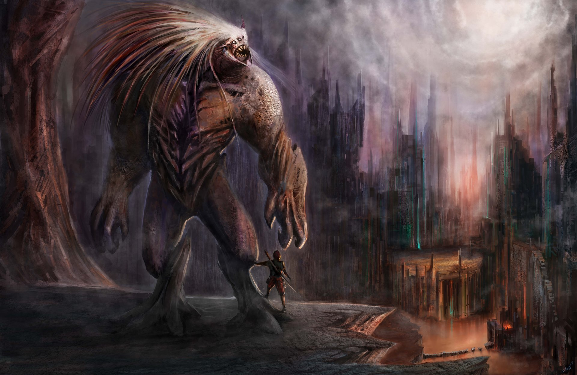 картинки фэнтези чудовища