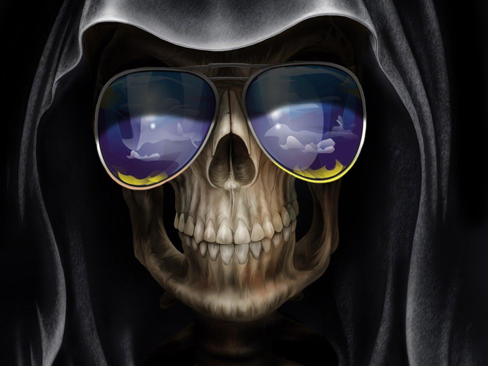 Картинки на скайп черепа