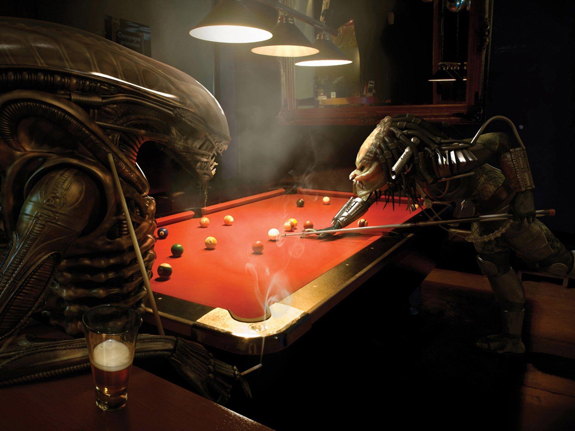 Обои скелет, чужой, удивляется, череп, живописи, земной. Фантастика foto 7