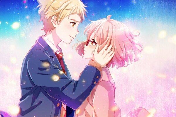 Девушка аниме слезы