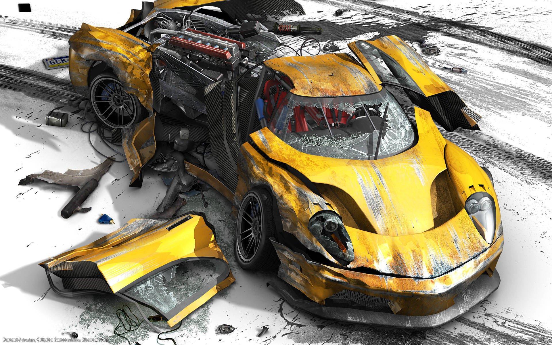 повседневного картинки разбившихся машин что видишь