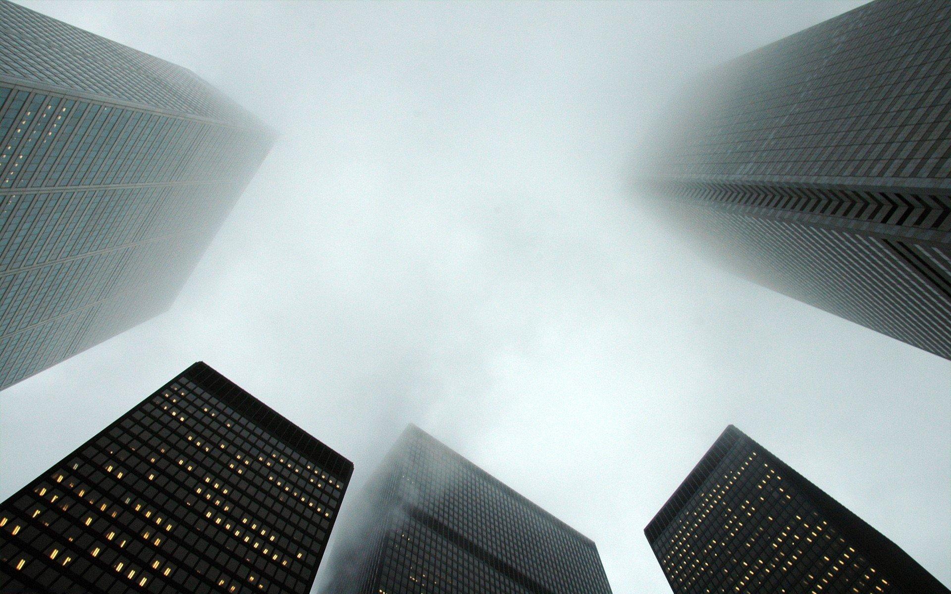 Обои туман. Города foto 11