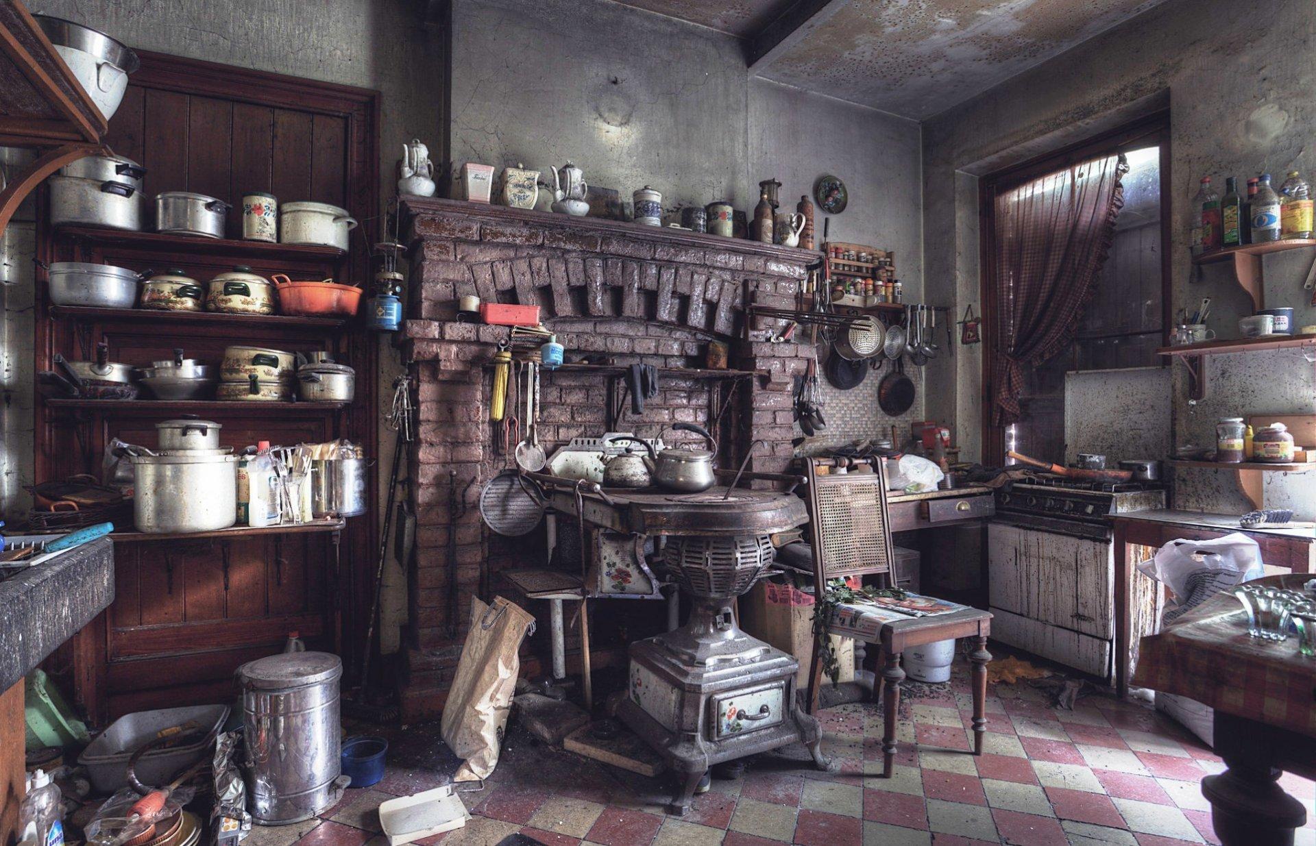 Старая кухни картинки