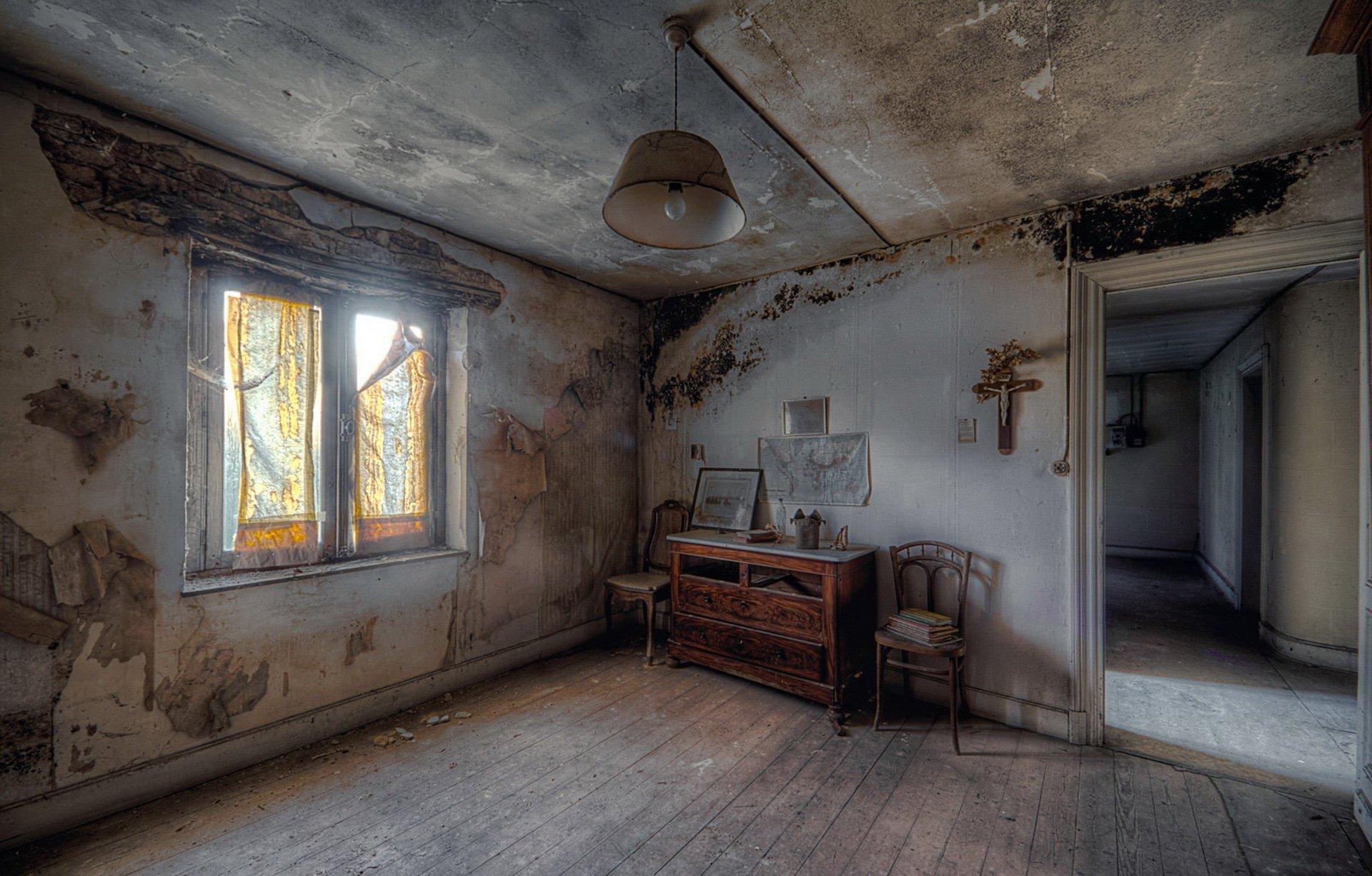 Картинки с разрушенными комнатами