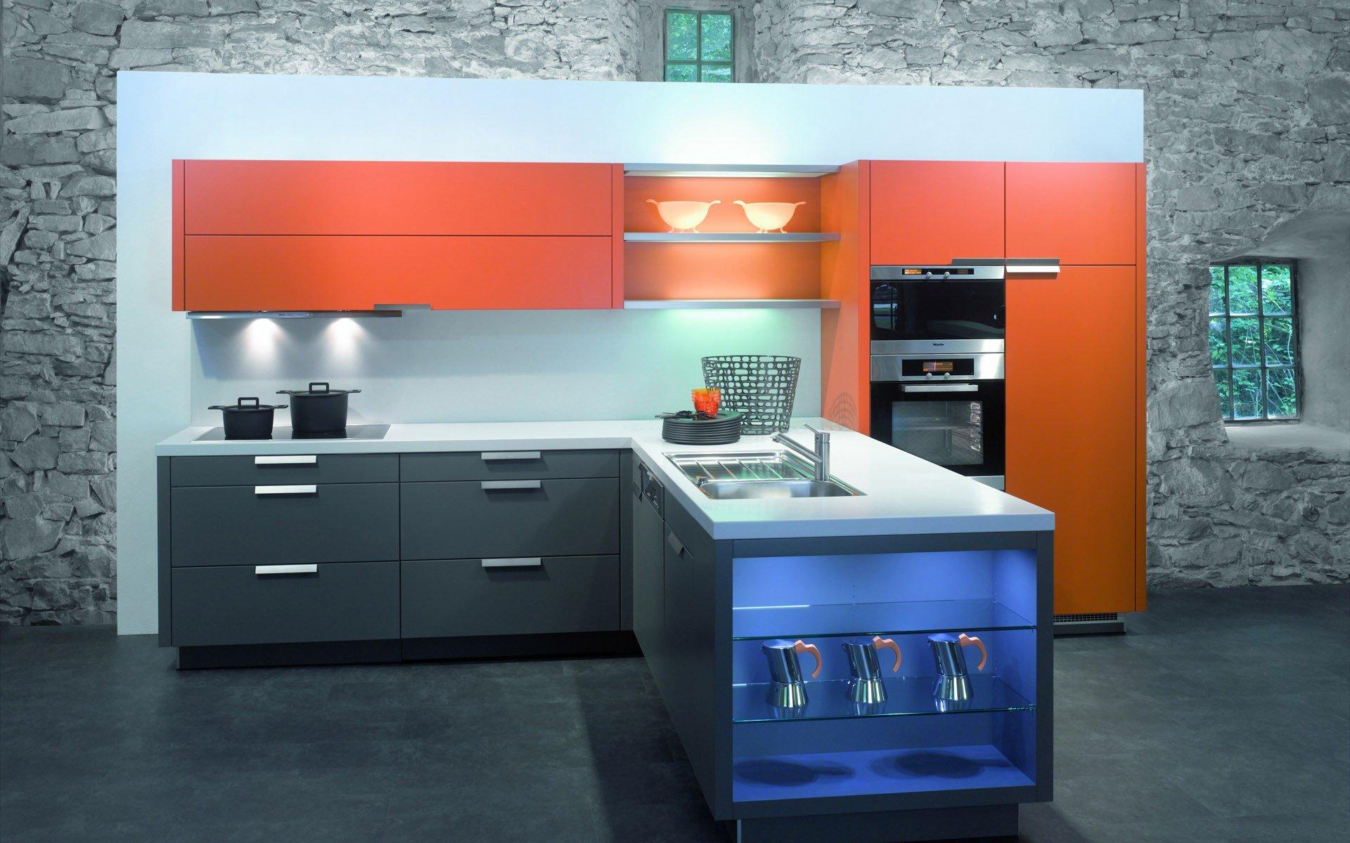 стильная кухня  № 541863  скачать