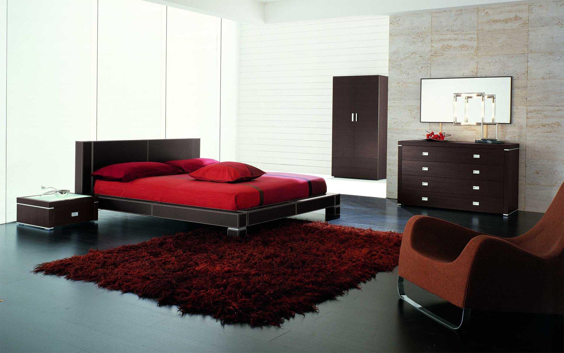 Интерьер ковры кровать  № 3537295  скачать