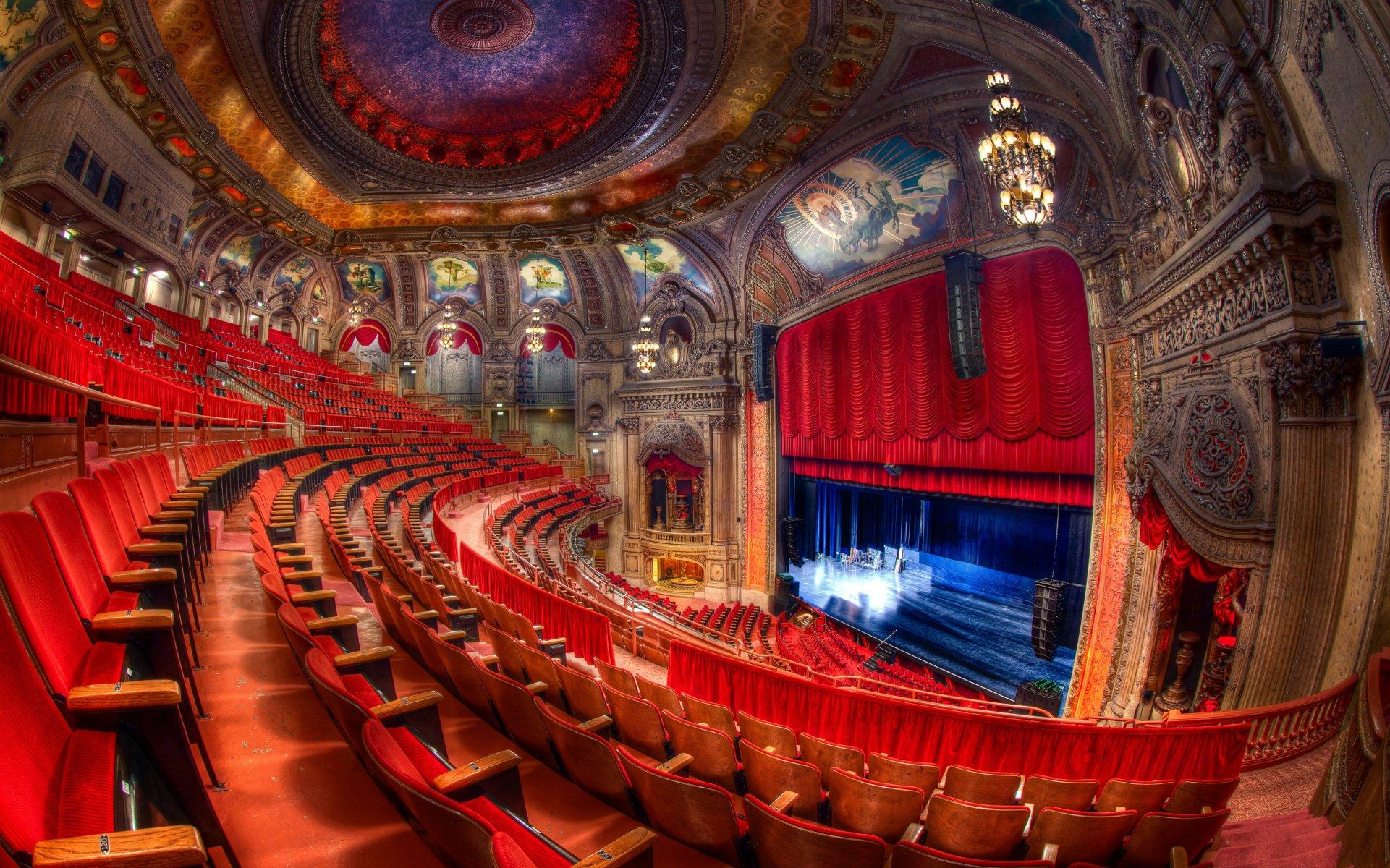 Открытки день, картинки с театром