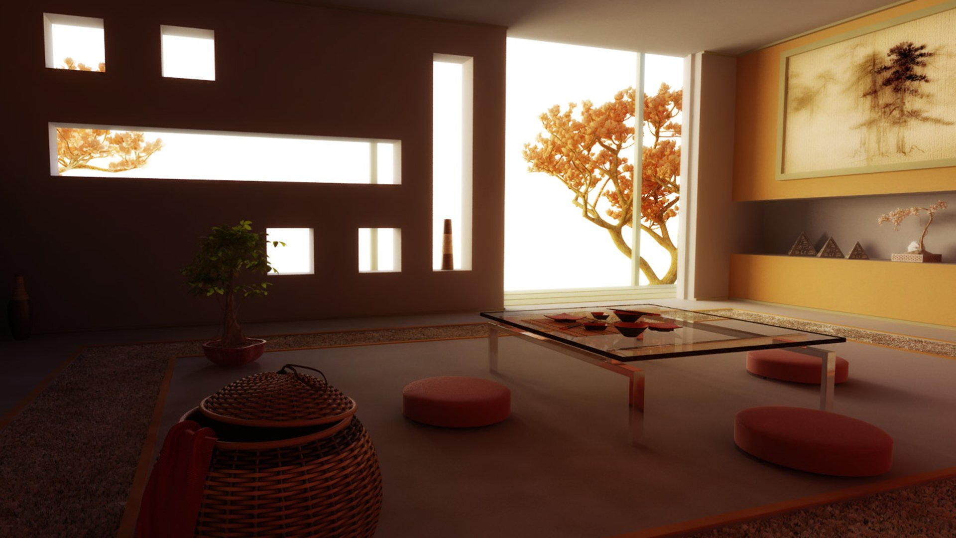 деревья закрывают свет в квартире