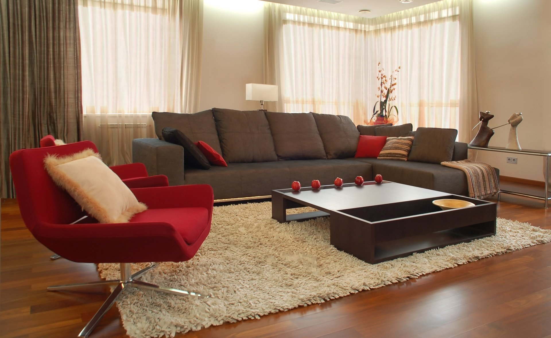 Красный зал дизайн