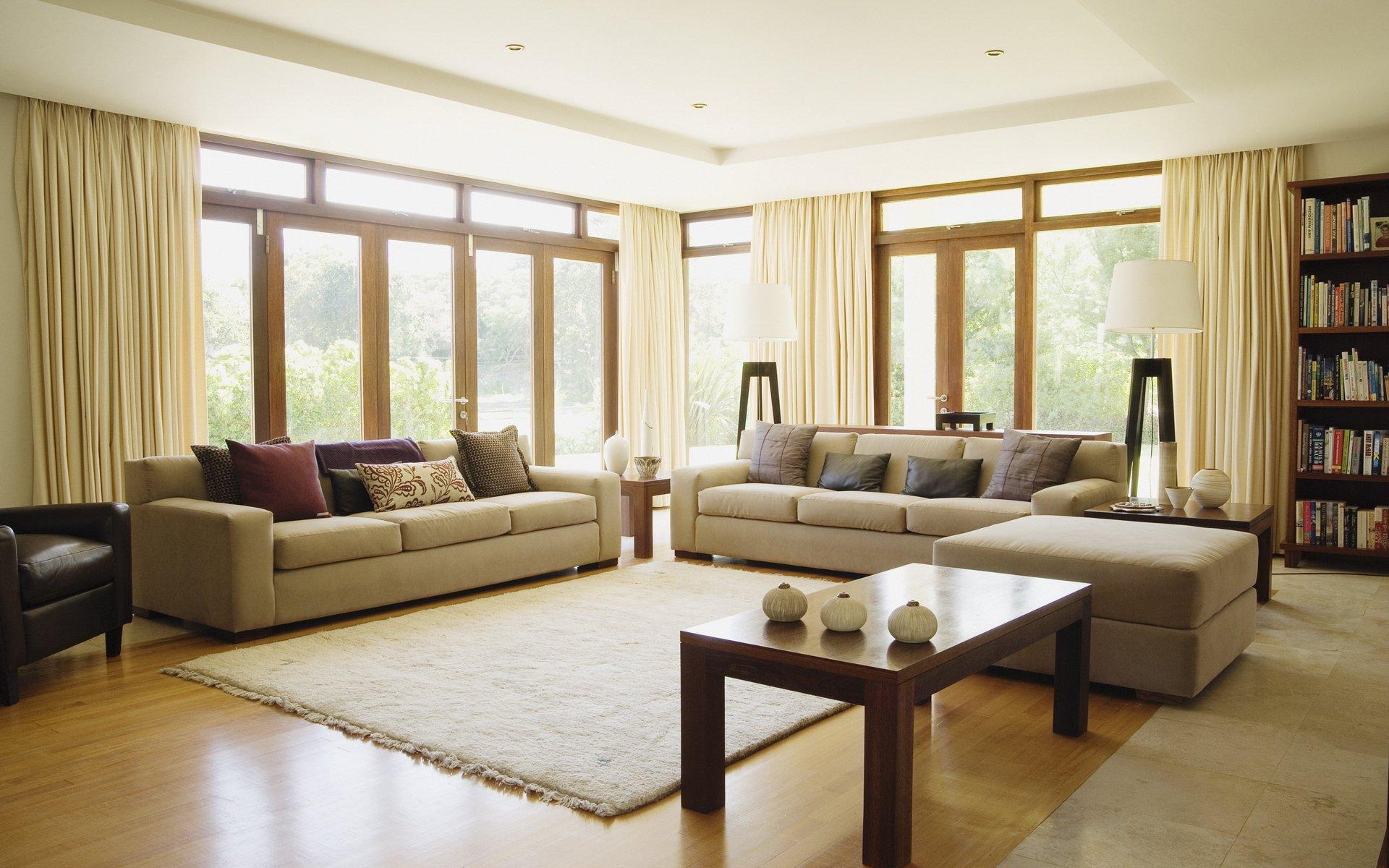 Два дивана в одной комнате дизайн
