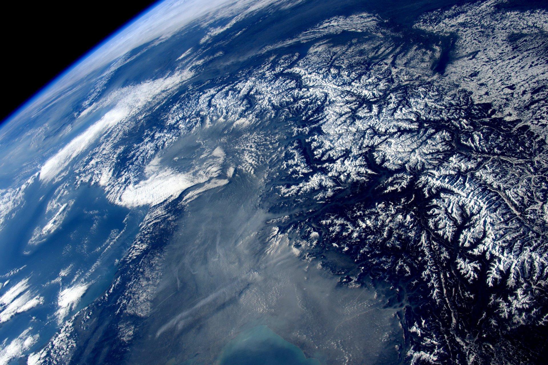 Фотографии земли из космоса обман