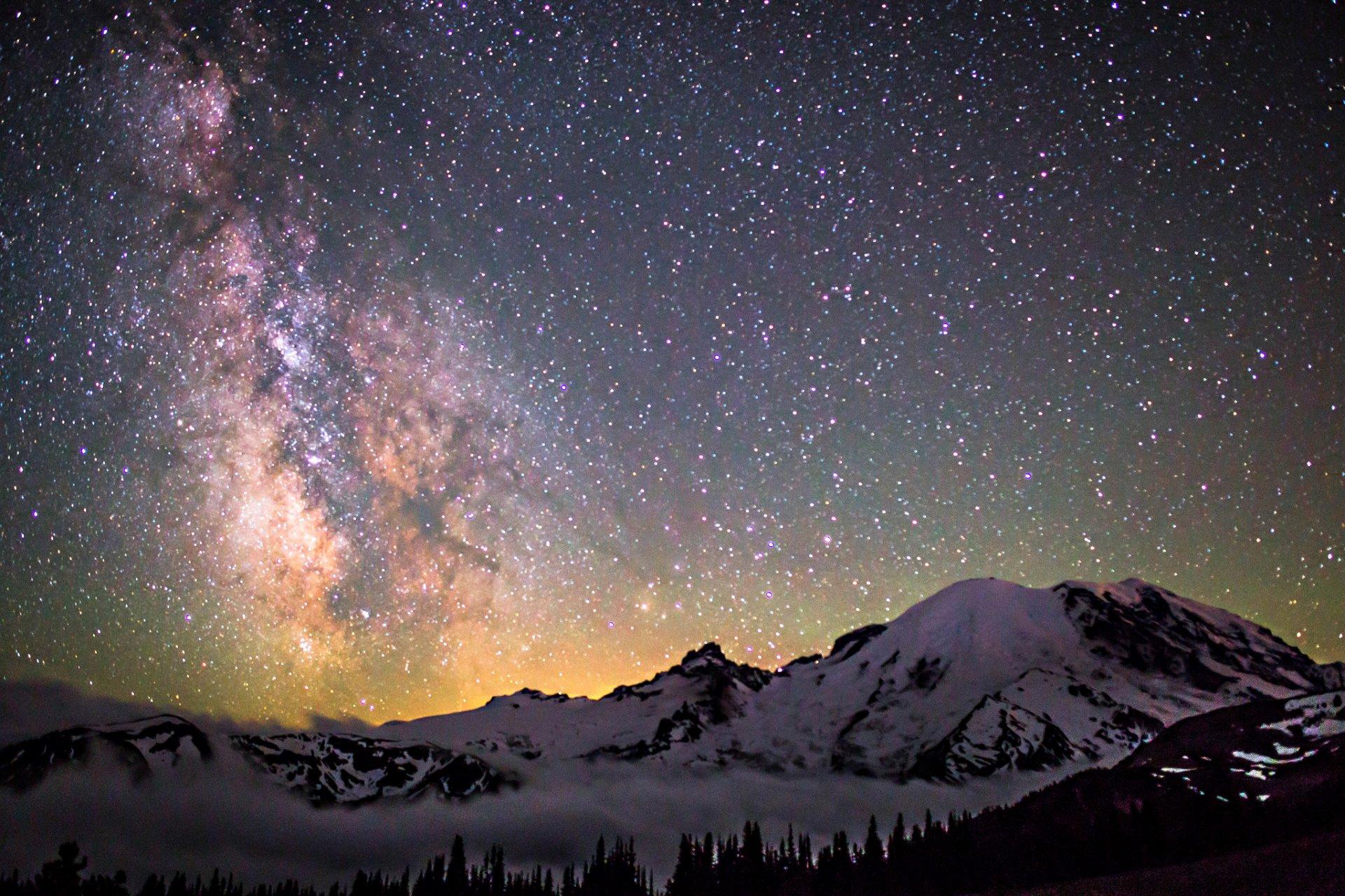 горы ночь звезда без смс