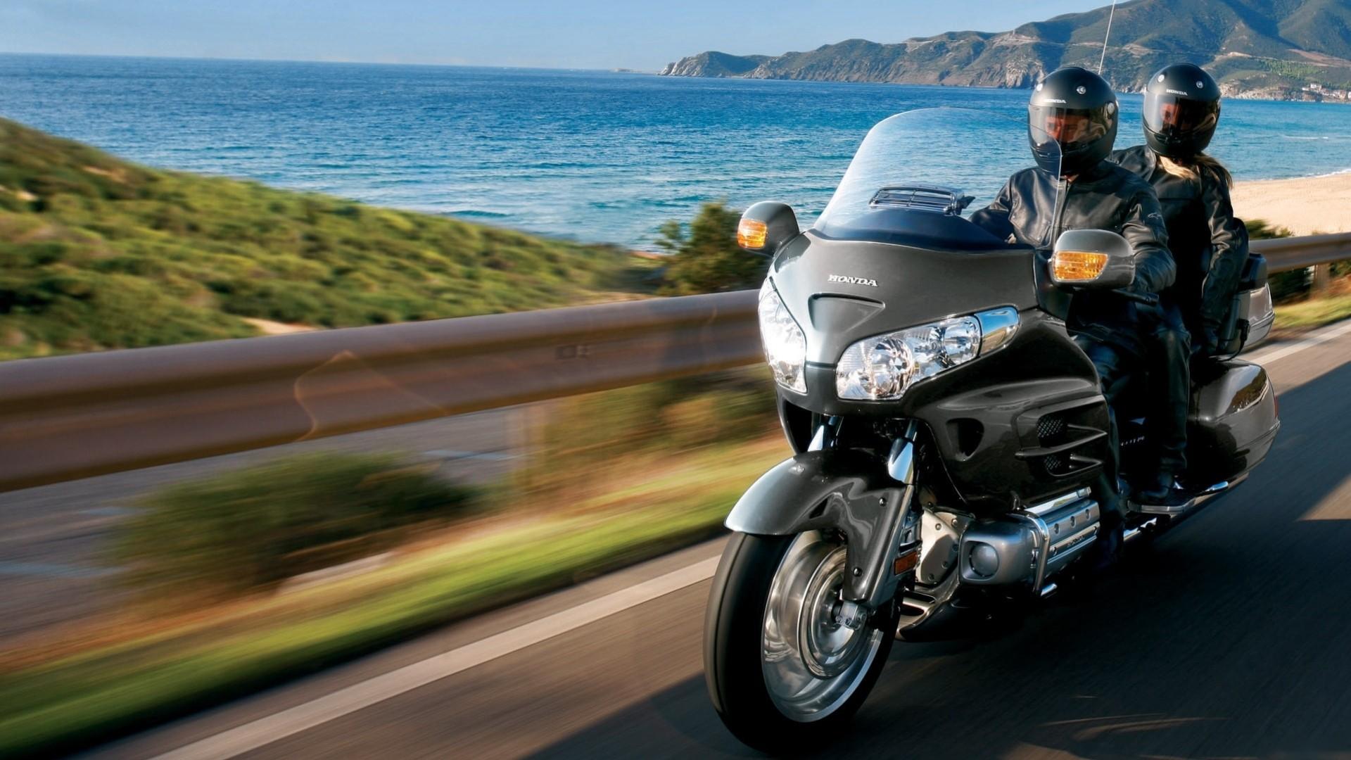 мотоцикл море пляж скачать