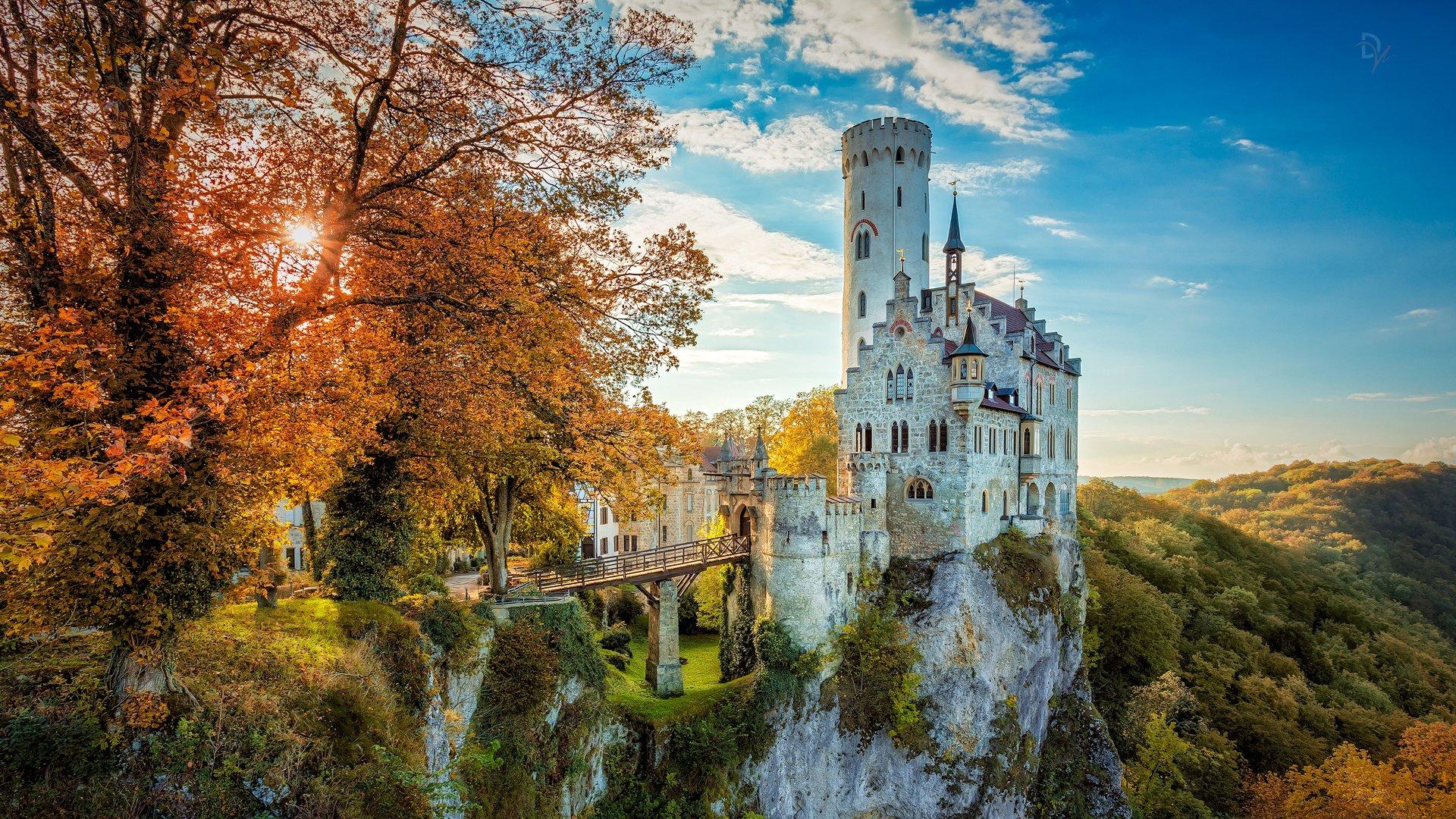 уже обои на рабочий стол средневековые замки бельгийский друг-архитектор