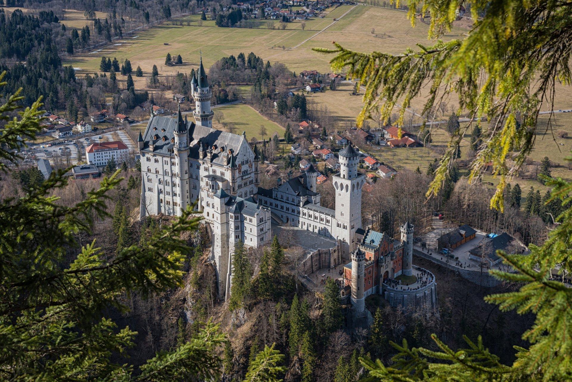 Neuschwanstein Castle, Bavaria, Germany загрузить