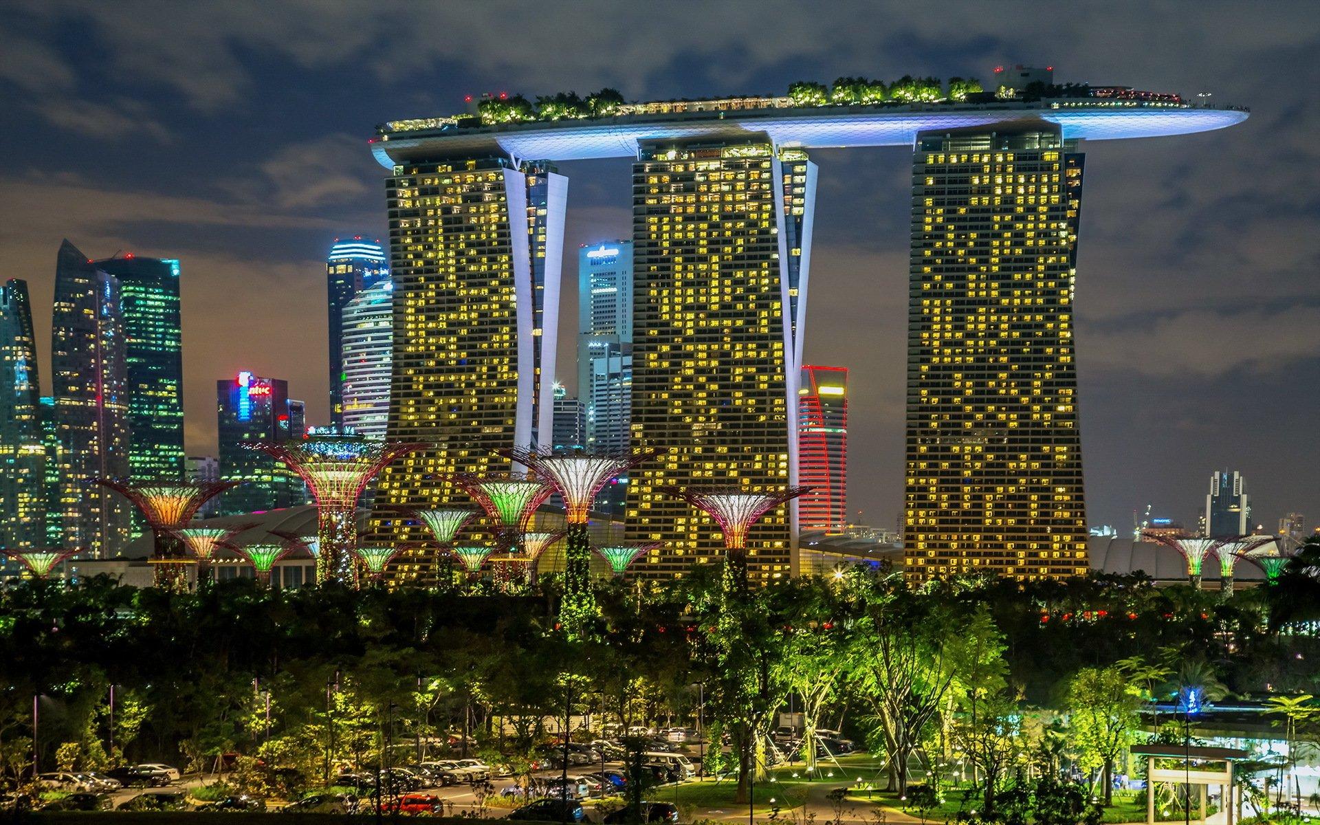 страны архитектура Сингапур отель  № 941497 бесплатно