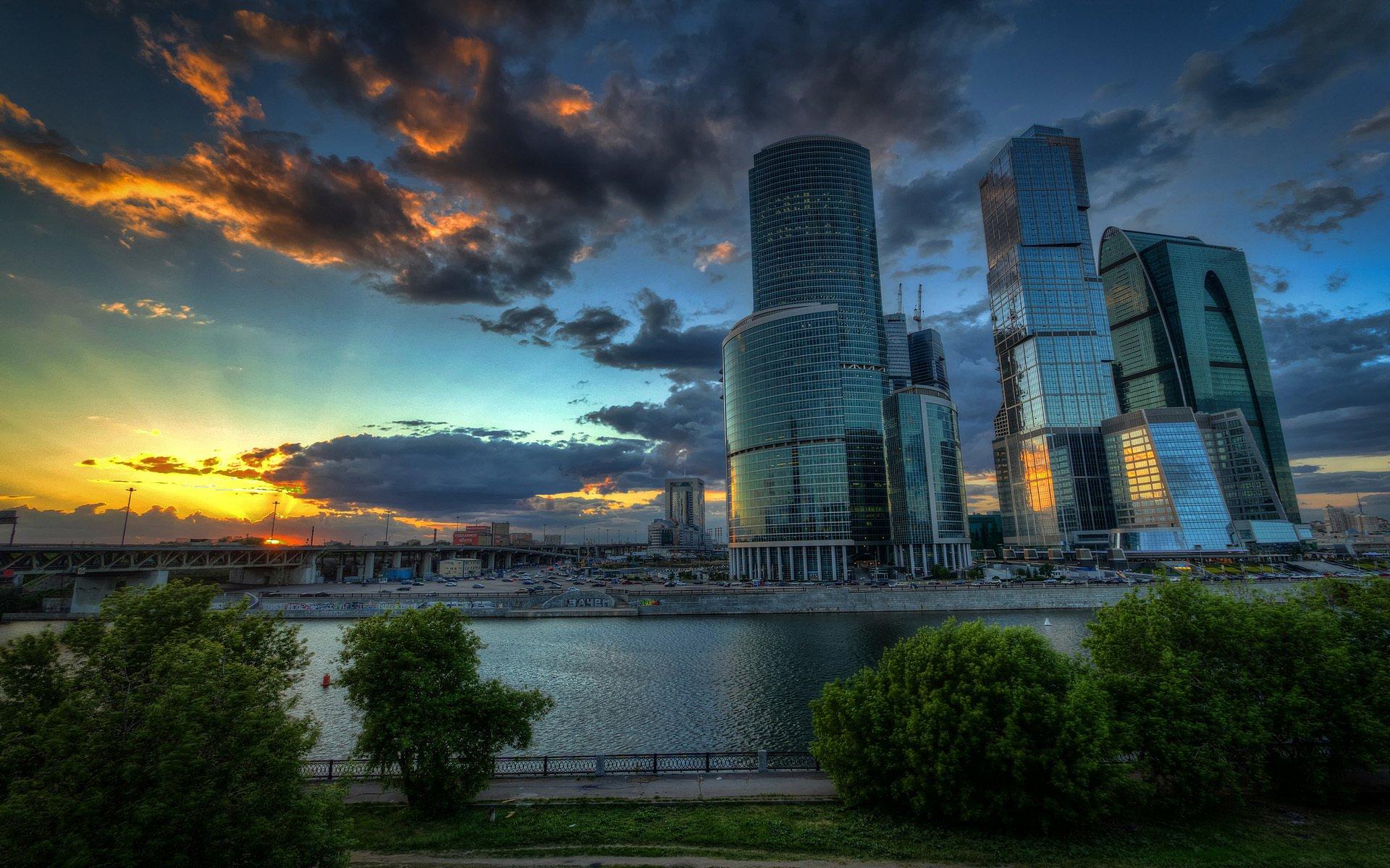 Обои москва сити, небоскребы, venitomusic. Города foto 7