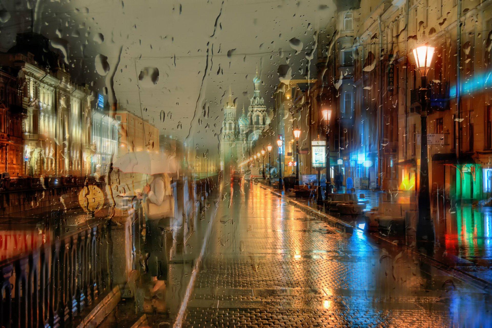 Фото осень дождь природа