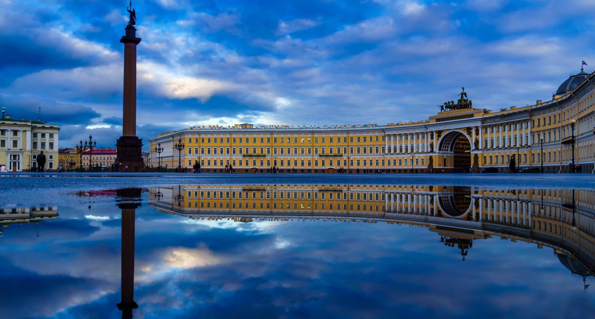санкт-петербург питер россия дворцовая площадь HD обои для ...