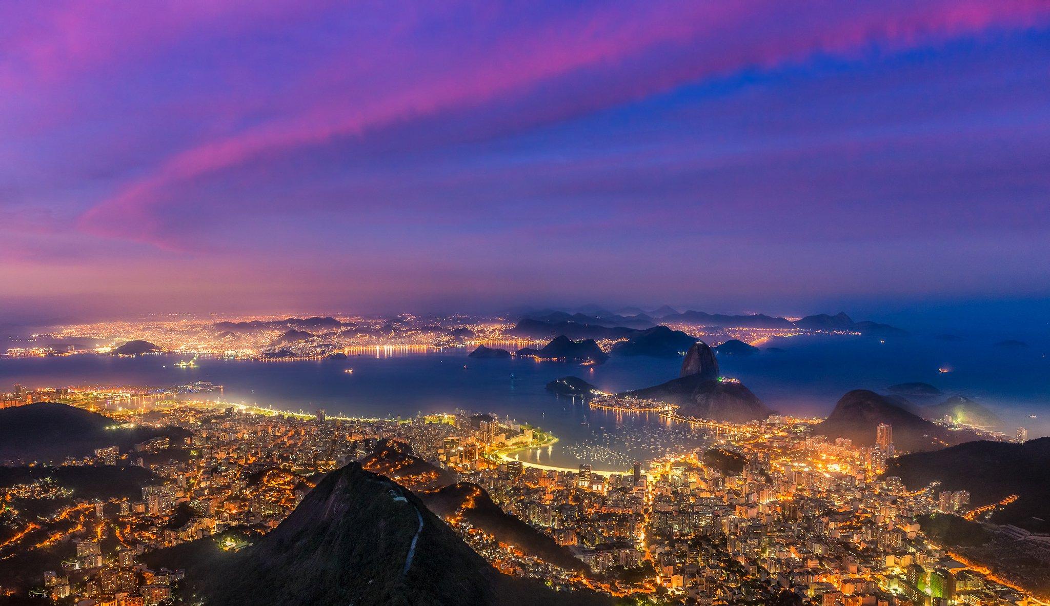 Сверкающий Рио-Де-Жанейро  № 1457508  скачать